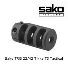Дульный тормоз компенсатор для Sako TRG 22/42 и Tikka T3 Tactical