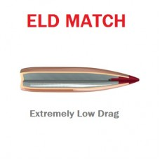 Пули Hornady ELD Match 6.5 mm 264 130 gr